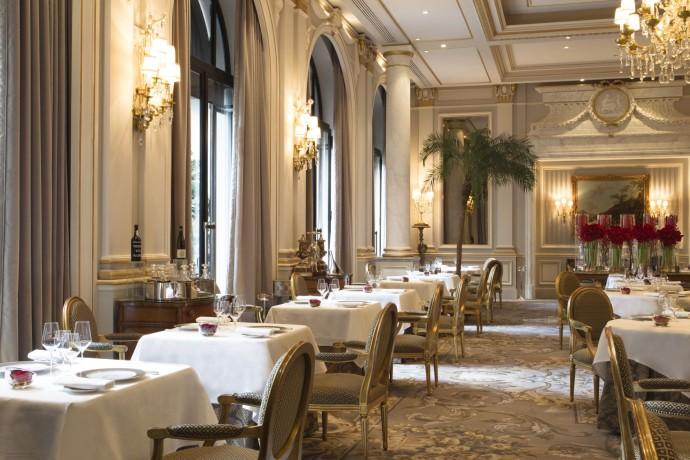 Four Seasons Paris Le Cinq Restaurant 2015
