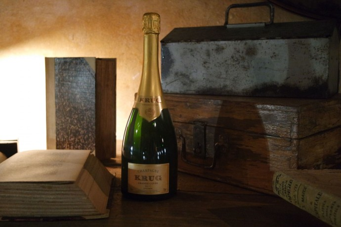 Krug Champagne bouteille