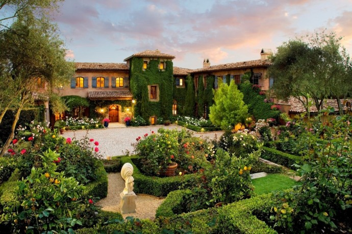 the chateau of montecito