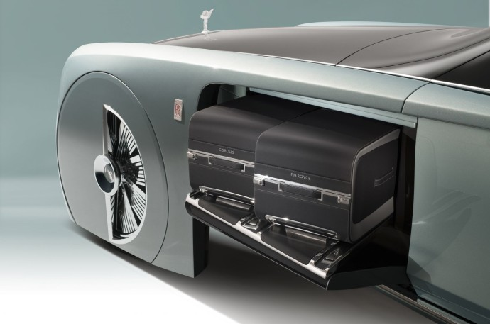 Rolls-Royce Vision Next bagage