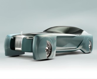 Rolls-Royce Vision Next front
