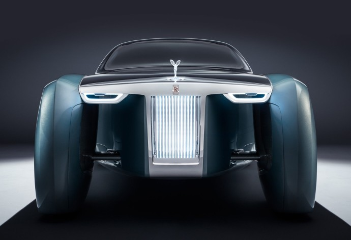 Rolls Royce vision next front