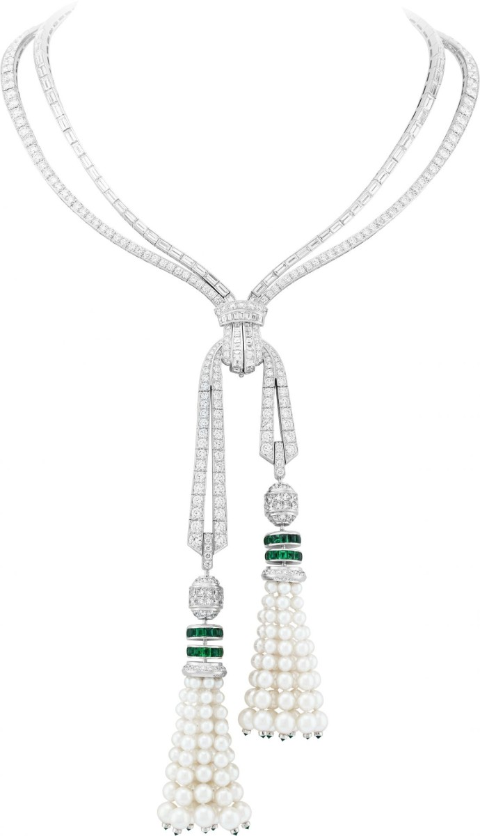 Emeraudes van cleef arpels Collier Grand Opus Packshot