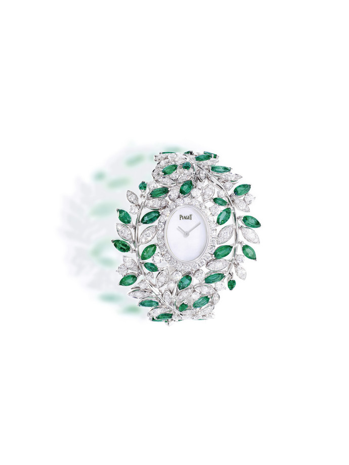 Piaget sunny side of life Montre en or blanc 18 carats