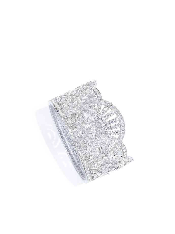 Piaget sunny side of life manchette diamants