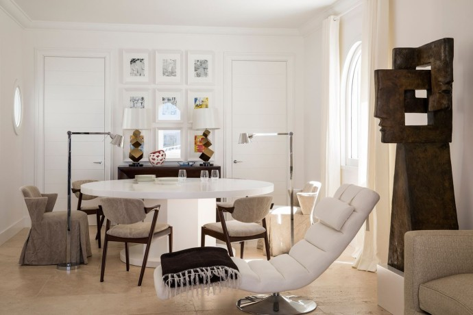 top interieur Villa a Sabaudia
