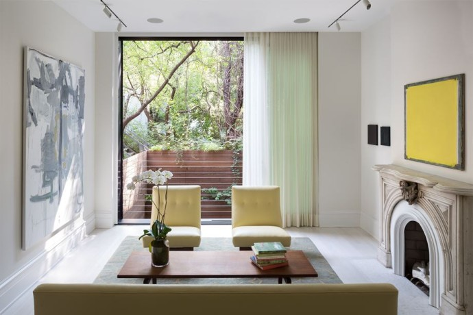 top interieur West Village Townhouse New York