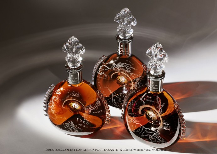 Louis XIII -three-decanters