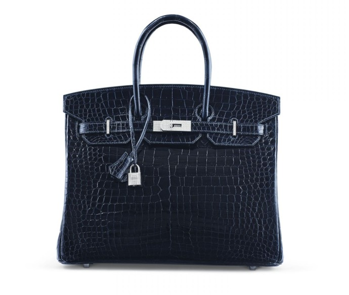 lot-n141-hermes-exceptionnel-sac-birkin-diamant-35-en-crocodile-porosus-lisse-bleu-marine-garniture-or-gris-18k-et-diamants-2007-e100-000-150-000
