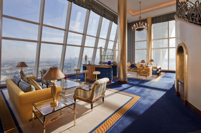 Burj Al Arab - Club Suite Lower level