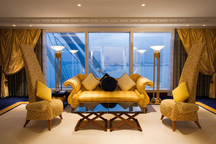 Burj Al Arab - Diplomatic Suite Living Area