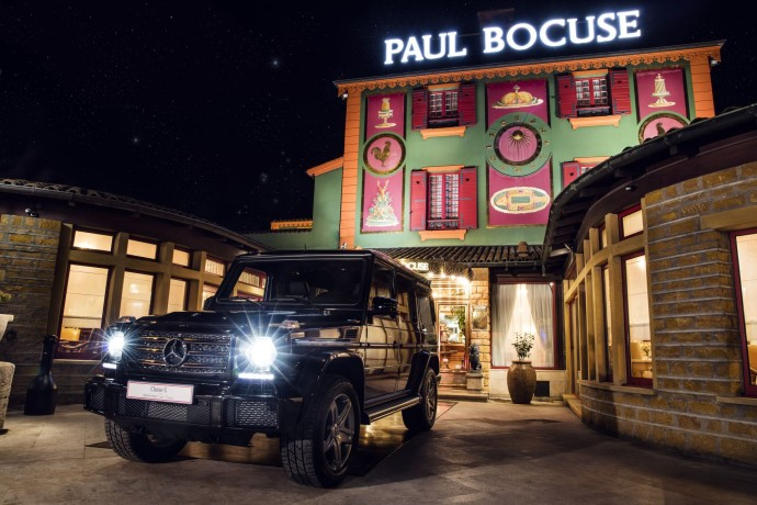 Mercedes-Benz Classe G paul bocuse restaurant