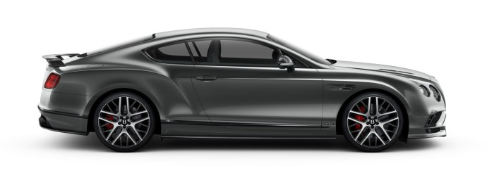 Bentley Continental Supersports profile