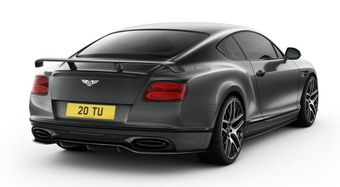 Bentley Continental Supersports rear