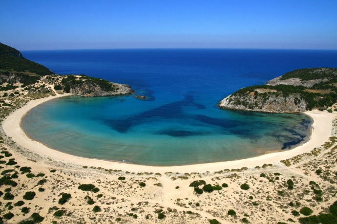 costa navarino Voidokilia Beach1