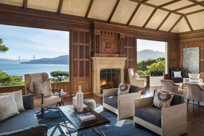 villa a vendre golden gate san francisco fireplace