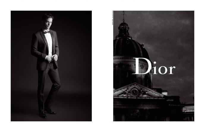 DIOR HOMME - FALL 17 - ROBERT PATTINSON _1