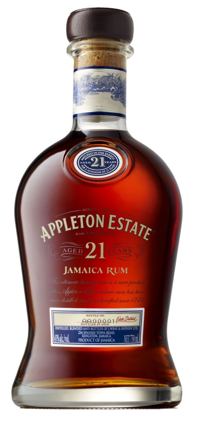 APPLETON ESTATE 21 ans HD
