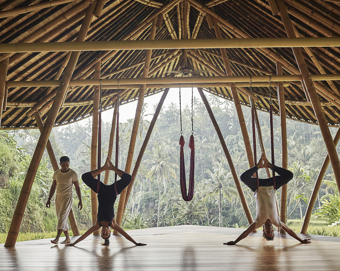 Four seasons Ubud Bali 12 yoga