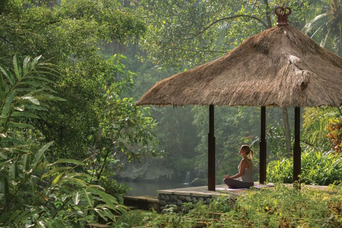 Four seasons Ubud Bali Meditation Bale