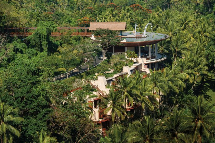 Four seasons Ubud Bali Resort View