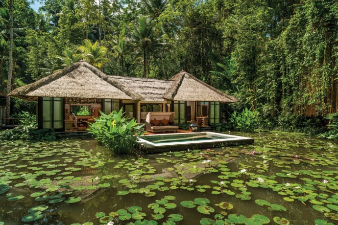 Four seasons Ubud Bali Royal Spa Villa
