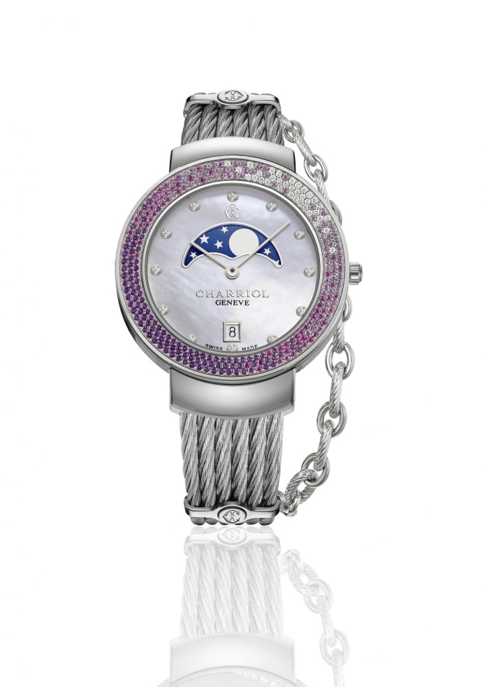 Montre St Tropez GlamMoon CHARRIOL - Photo Charriol