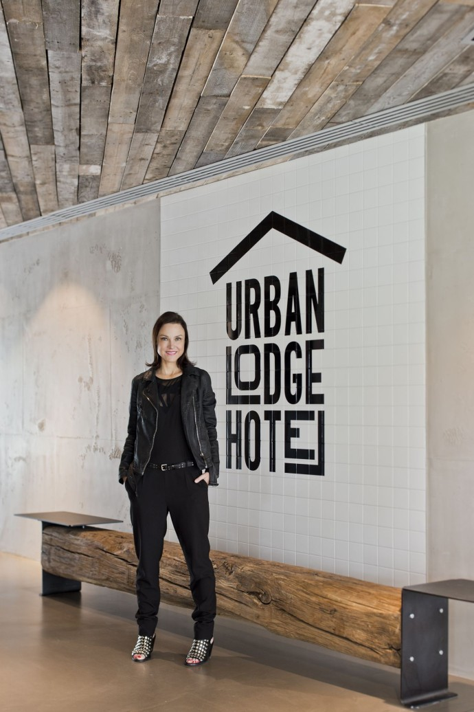 Hilary Lancaster, interior designer of Urban Lodge Hotel - Photo F.Ducout (48)