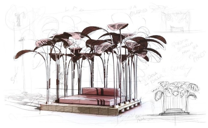 Milan 2017 sketch The Invisible Collection Marc Ange Le Refuge