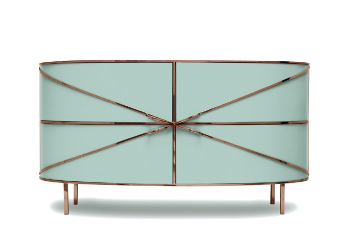 Semaine du design Milan 2017 Scarlet Splendour 88 Secrets Sideboard Jade Rose 1