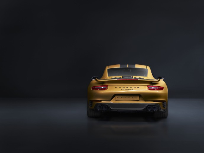 911 Turbo S Exclusive Series arriere