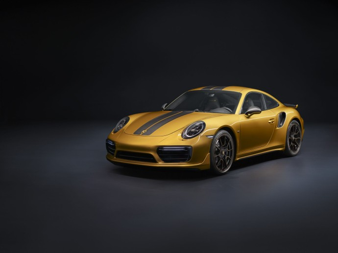 911 Turbo S Exclusive Series face