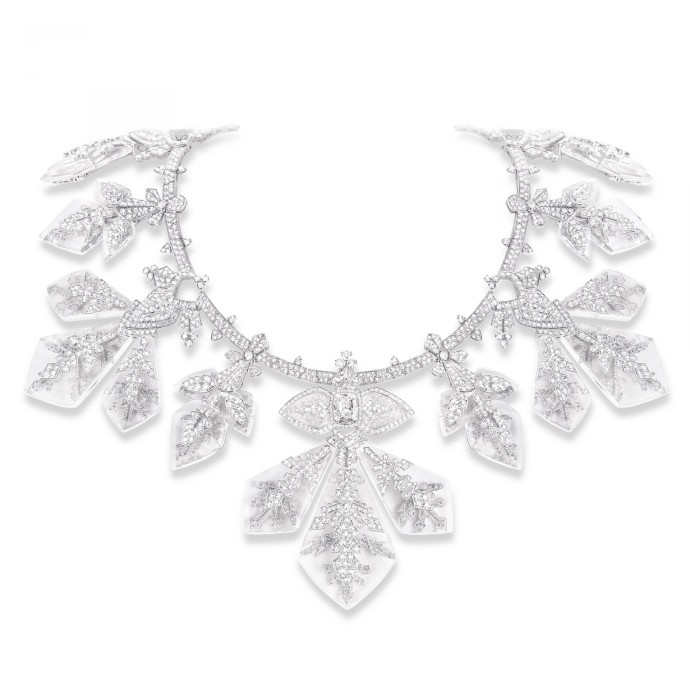 Boucheron Haute joaillerie Flocon necklace