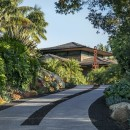 CONTEMPORARY BALINESE-STYLE ESTATE villa path