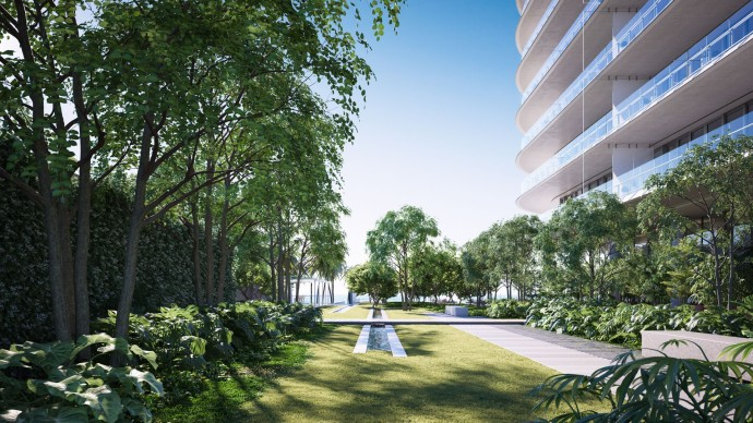 Renzo Piano's first residential project Eighty Seven Park Garden