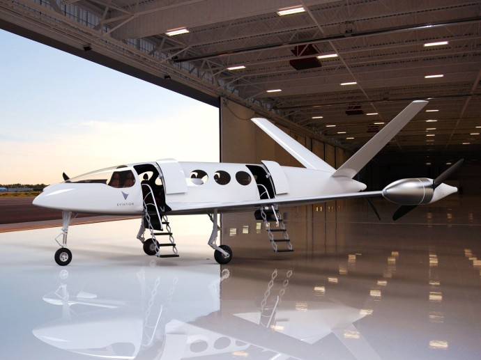 Eviation-Alice-electric-aircraft-exterior
