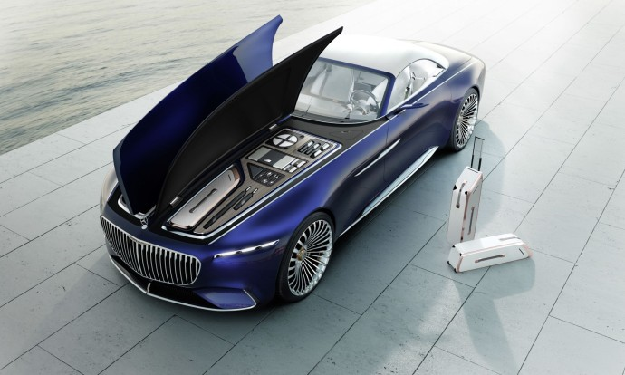 Vision Mercedes-Maybach 6 capot