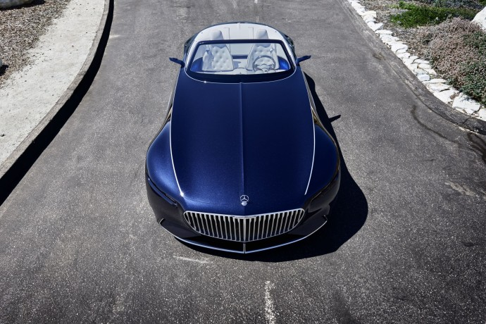 Vision Mercedes-Maybach 6 front
