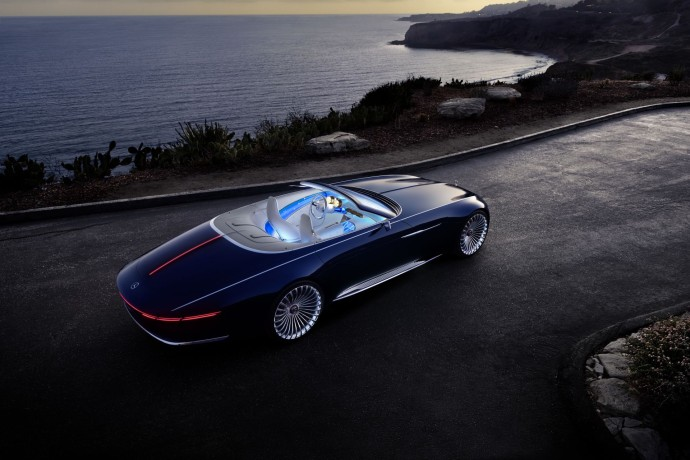 Vision Mercedes-Maybach 6 light