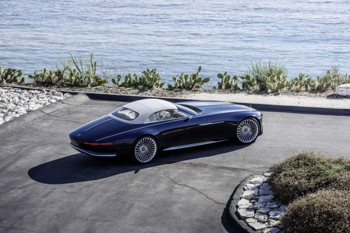 Vision Mercedes-Maybach 6 profil