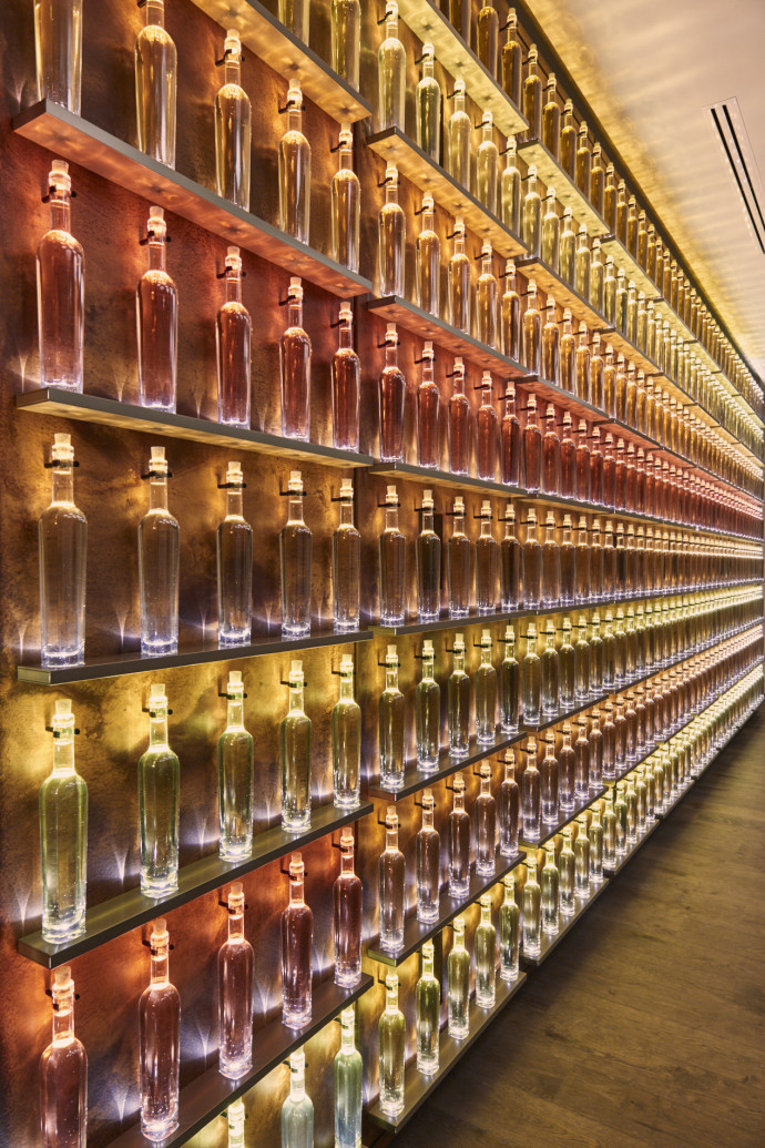 maison Krug light bottles