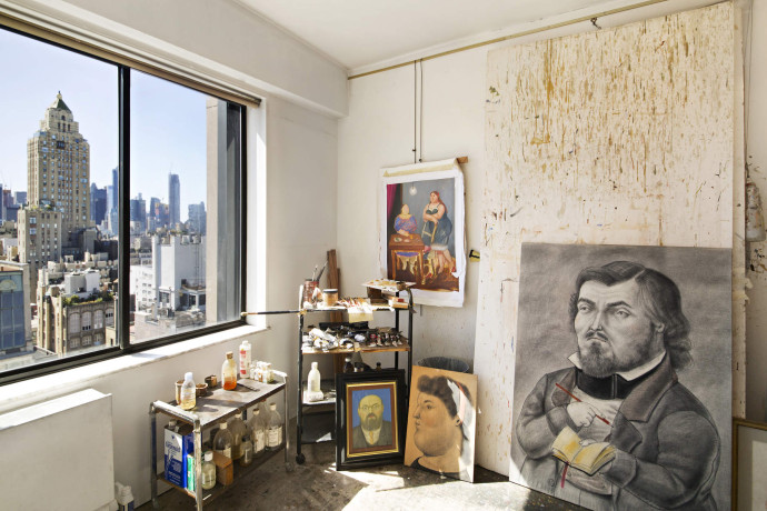 Fernando Botero's Upper East Side Home and Art Studio art