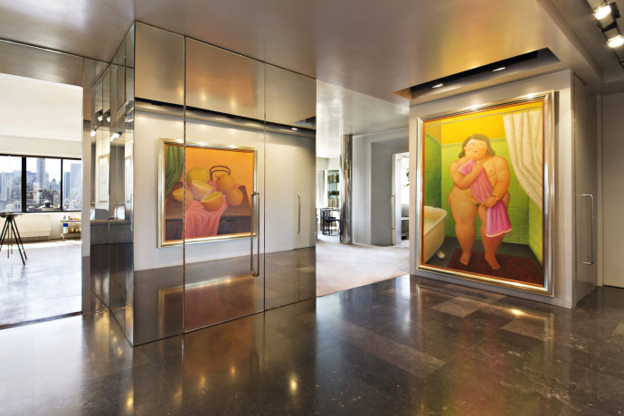 Fernando Botero's Upper East Side Home and Art Studio entrance