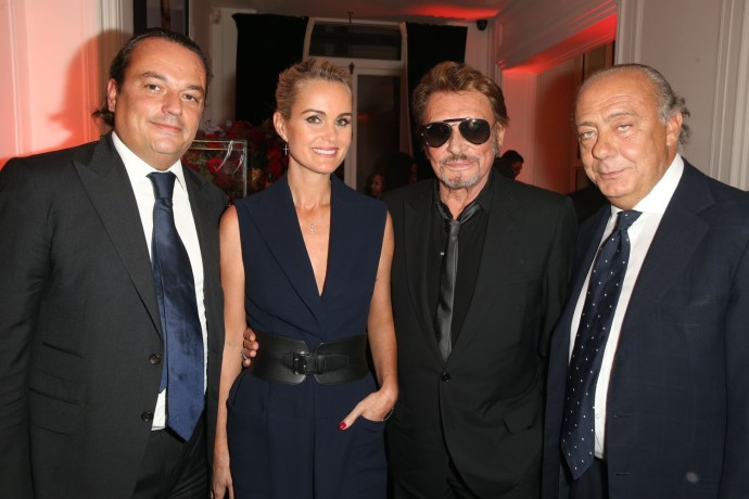 Gilles Mansard - Laeticia Hallyday - Johnny Hallyday - Fawaz Gruosi photo 3