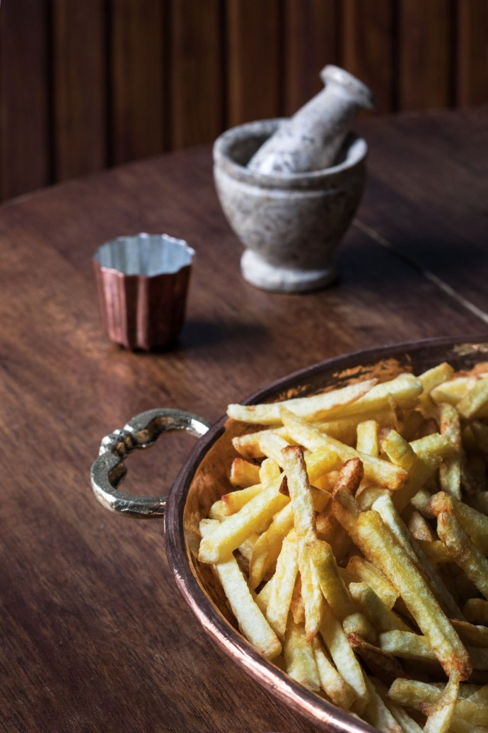 Pommes frites maison - Restaurant Le Grill Astier - Credit Roberta Valerio