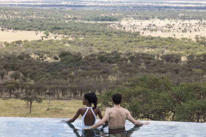 Melia Serengeti Lodge views