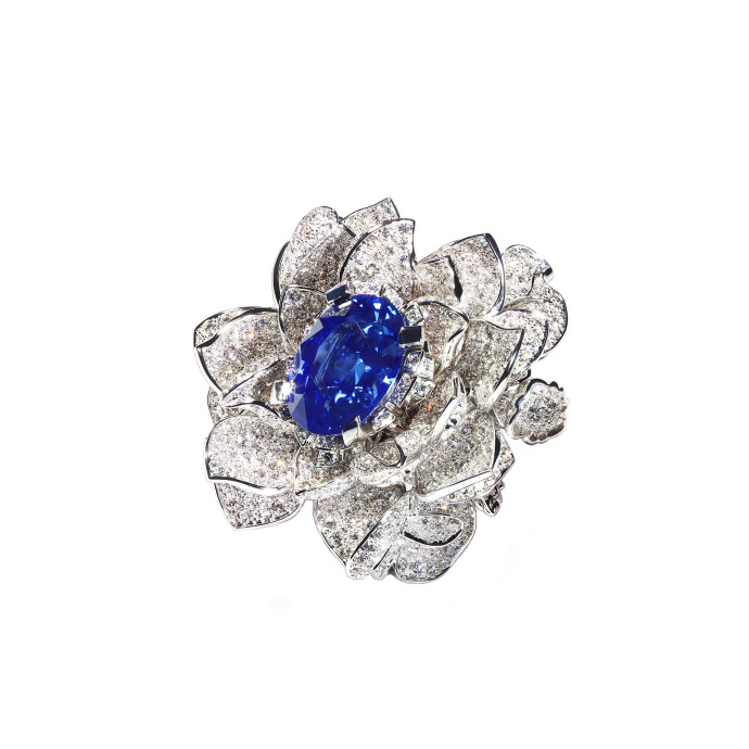 TTF - Blue Lotus ring