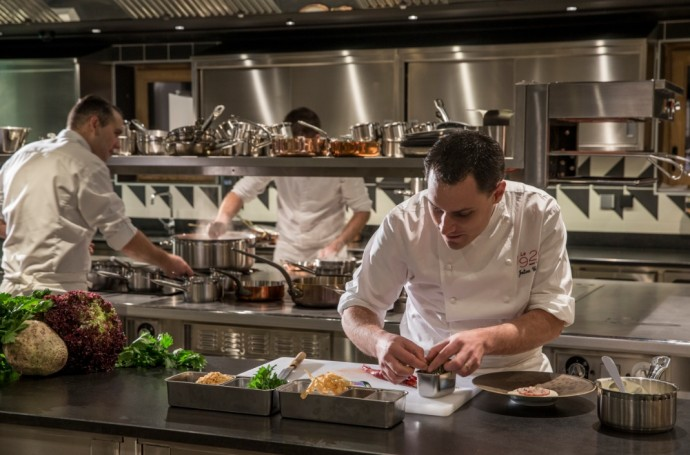 Four seasons Hotel Megeve Chef