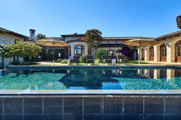 Tehama Estate in Carmel pool