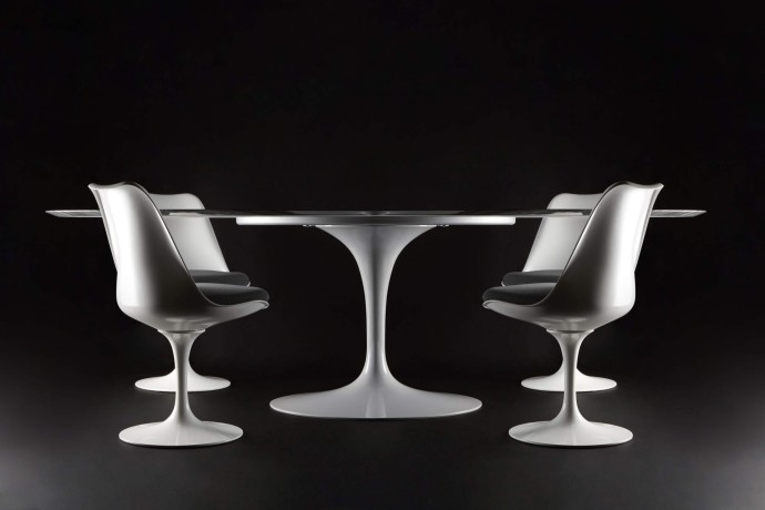 1259537_1143737_Exclusive Saarinen Table and Tulip Conference Chair_Eero Saarinen_knoll